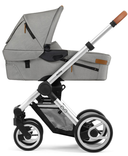 Mutsy Mutsy Evo Pram Urban Nomad Light Grey