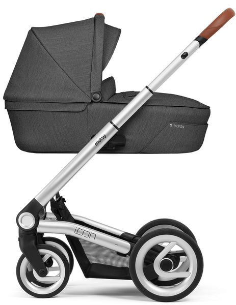 Mutsy Mutsy Icon Pram Vision Smokey Grey