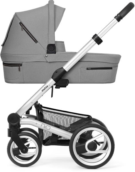 Mutsy Mutsy Nio Pram Journey Ice Grey