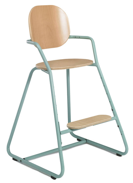Tibu Retro High Chair Aruba Blue - Charlie Crane