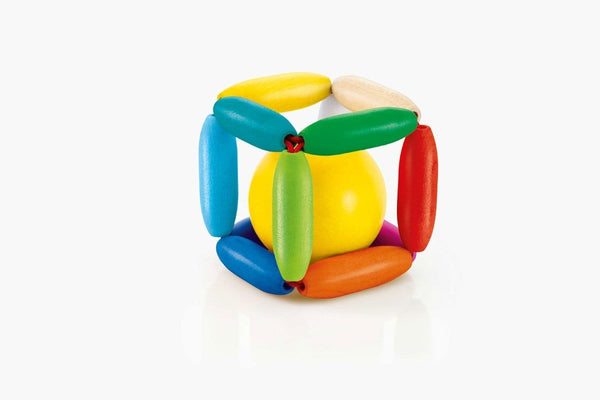 Selecta Wooden Toys Cubinello Ball Rattle