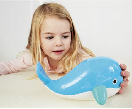Floating Whale Bath Toy - Kid O