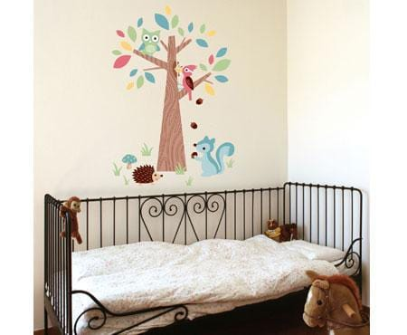 Forest Friends Wall Stickers - Speckled House