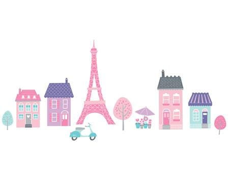 Speckled House I love Paris Wall Stickers