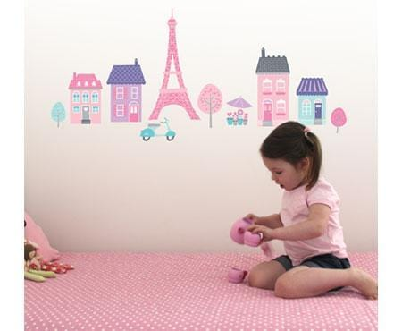 I love Paris Wall Stickers - Speckled House