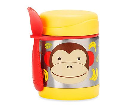 Skip Hop Zoo Insulated Food Jar Monkey