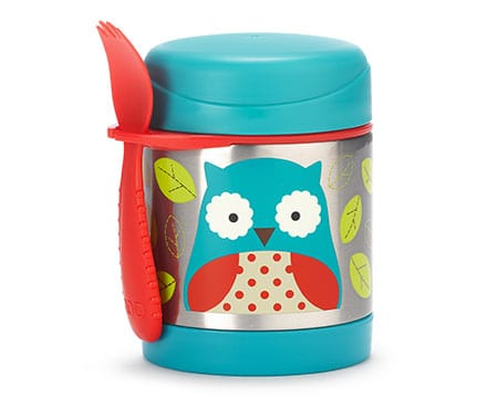 Zoo Insulated Food Jar Owl - Skip Hop