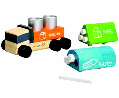 Interchangeable Recycling Truck - EverEarth