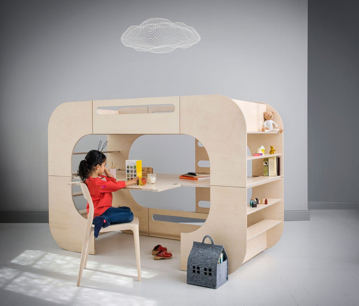 IO Kids Design IO Bunk Bed Yellow