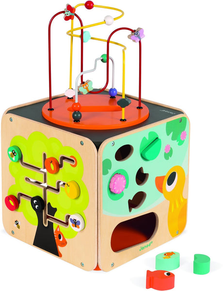 Janod Multi Activity Wooden Looping Toy