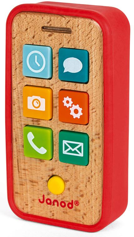 Wooden Mobile Smartphone with Sounds - Janod