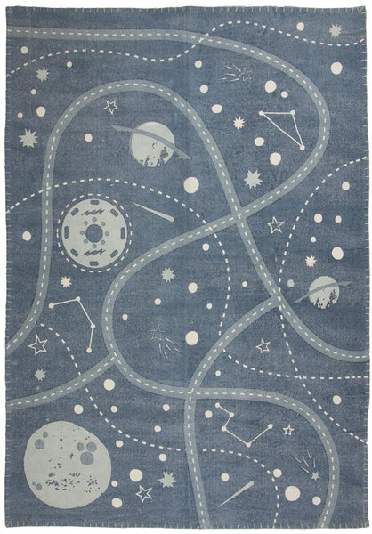 Nattiot Little Galaxy Children's Floor Rug