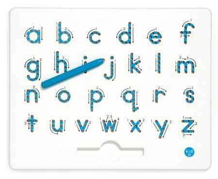 Kid O a to z Magnatab Lowercase Letters