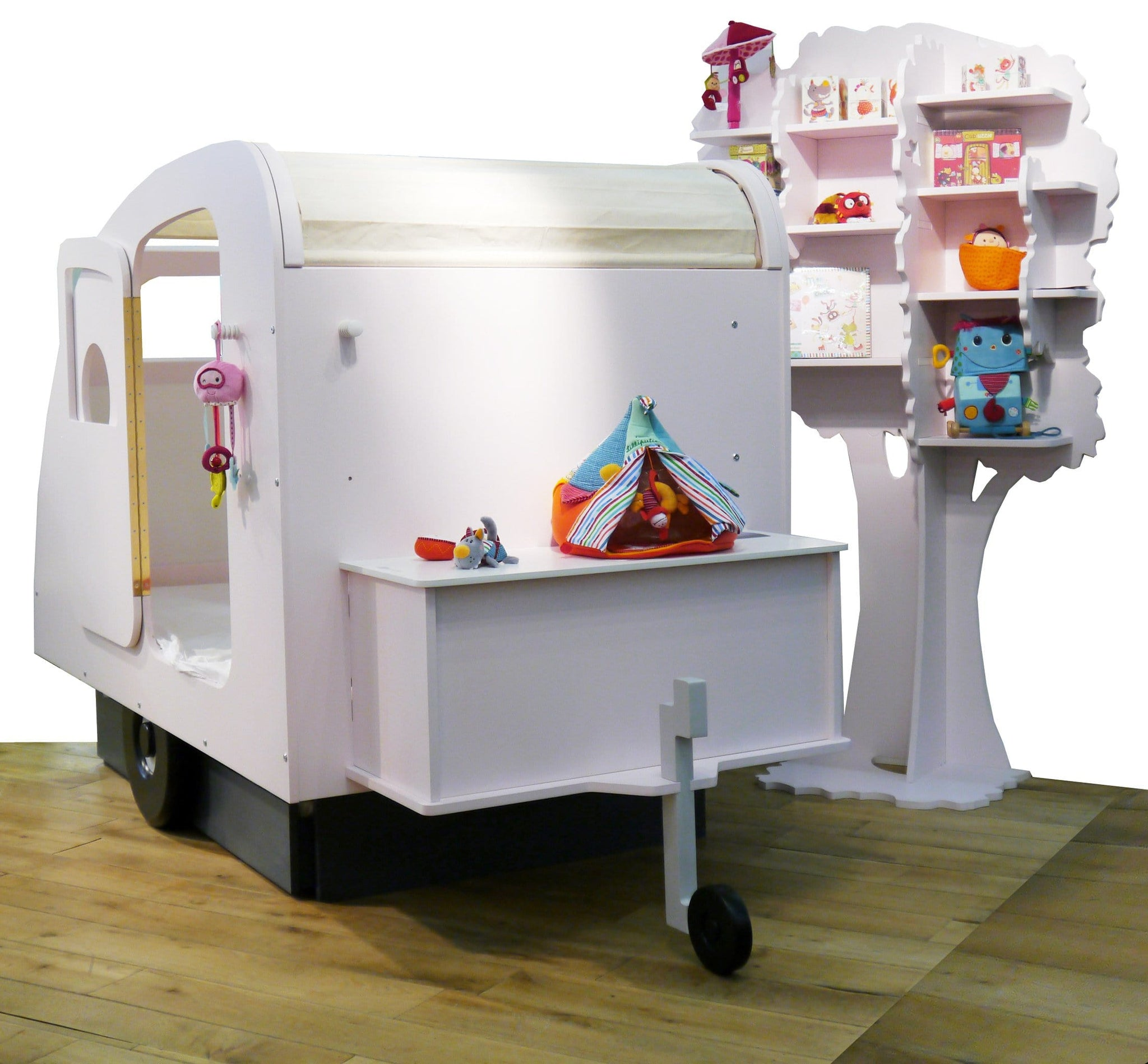 Mathy By Bols Children's Caravan Themed Bed