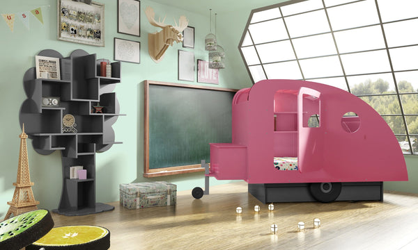 Children's Caravan Themed Bed - Mathy By Bols