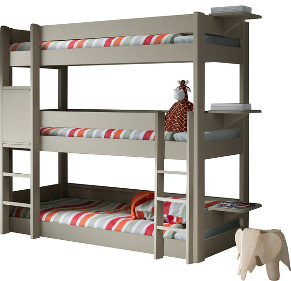 Dominique Triple Bunk Bed - Mathy By Bols