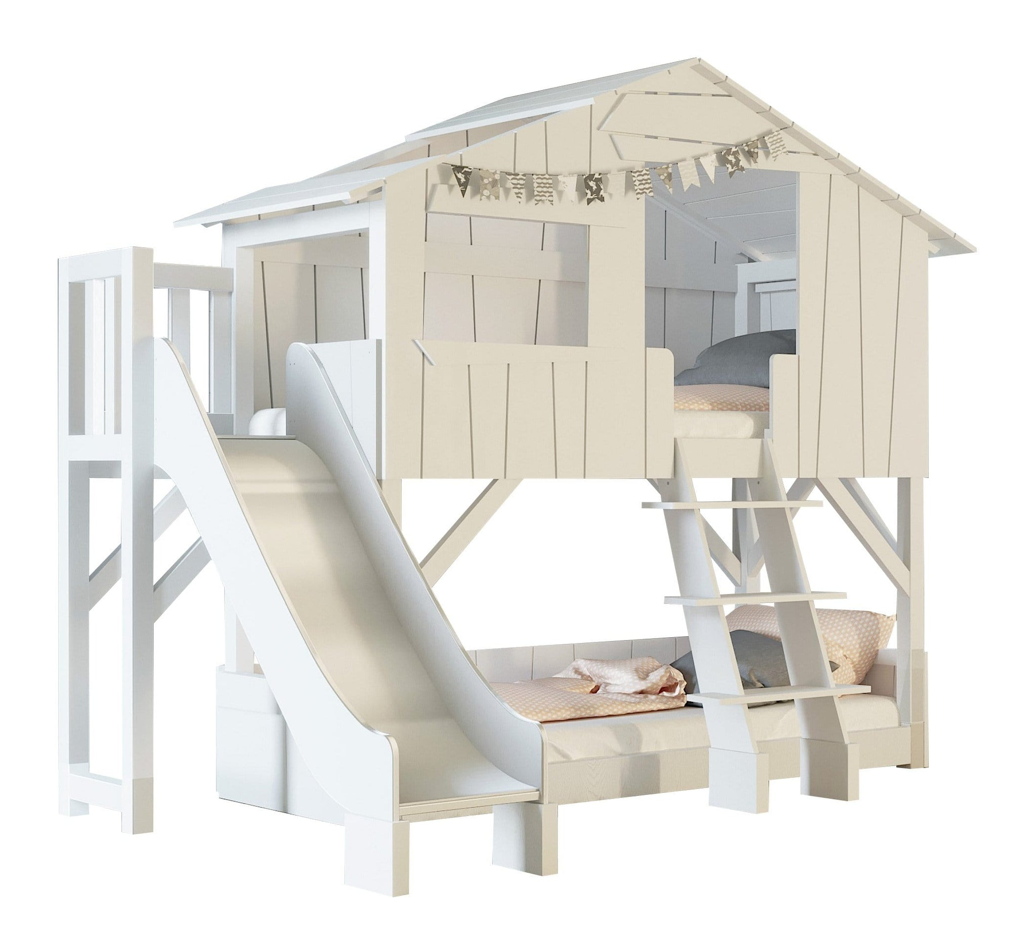 Picture of: Treehouse Bunk Bed With Slide Mathy By Bols Bebemoda Modern Furniture And Essentials For Babies And Kids