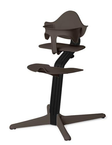 Evomove Nomi High Chair and Baby Recliner Coffee