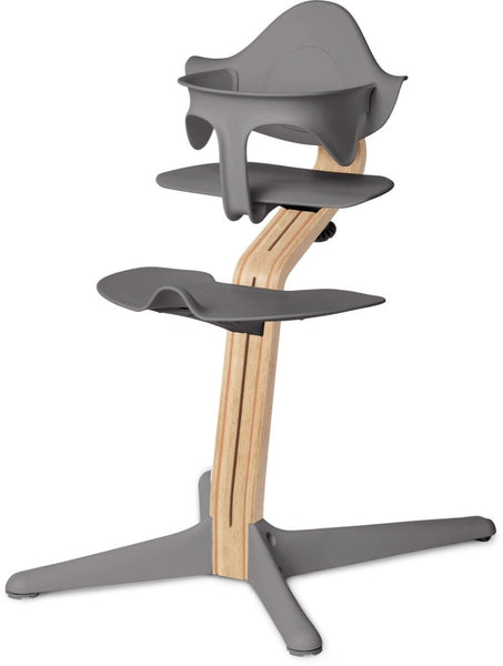Evomove Nomi High Chair and Baby Recliner Grey