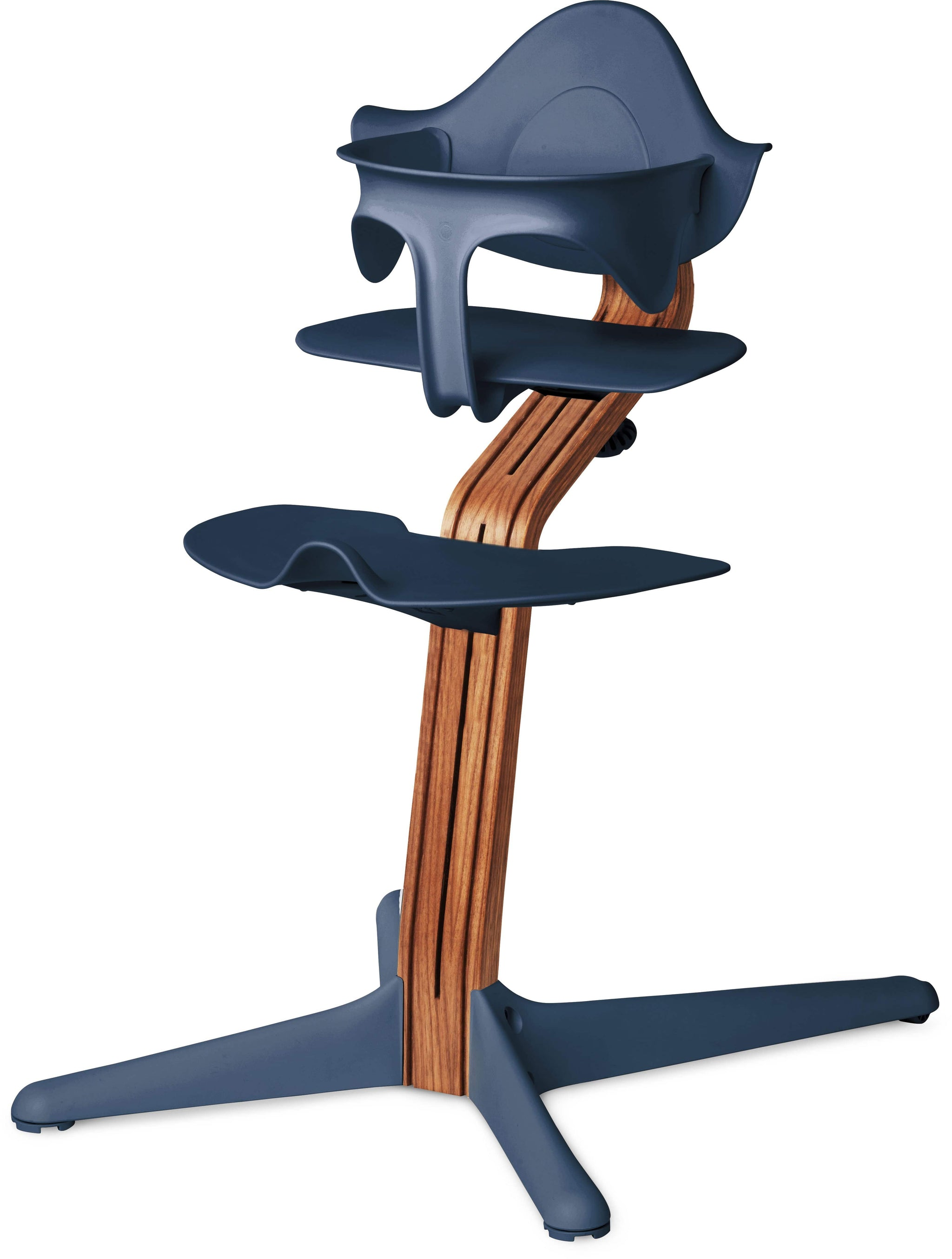 Evomove Nomi High Chair and Baby Recliner Navy