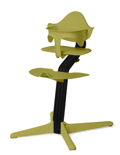 Evomove Nomi High Chair and Baby Recliner Lime