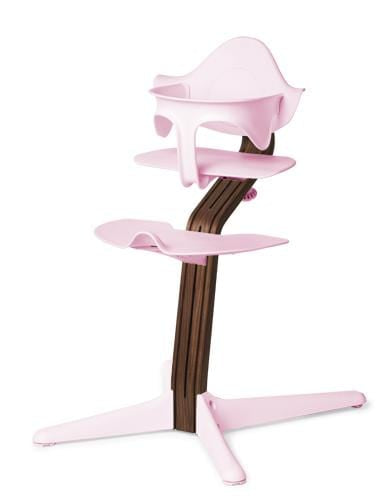 Evomove Nomi High Chair and Baby Recliner Pink