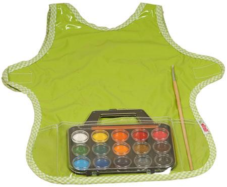 Painting Apron Green - Minene