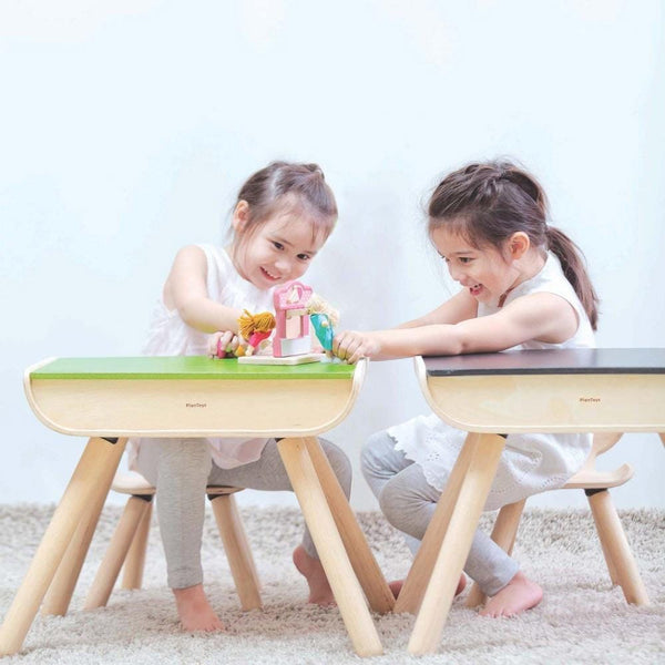 Table and Chair Desk Set - Plan Toys