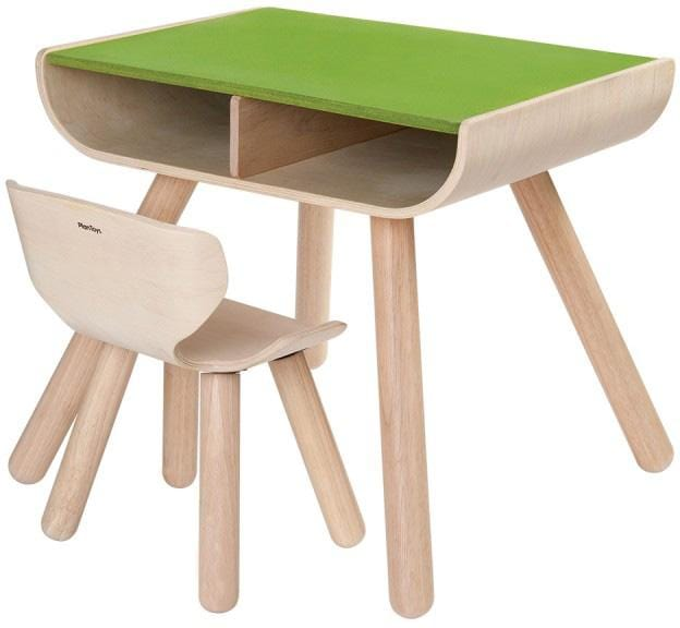 Plan Toys Table and Chair Desk Set