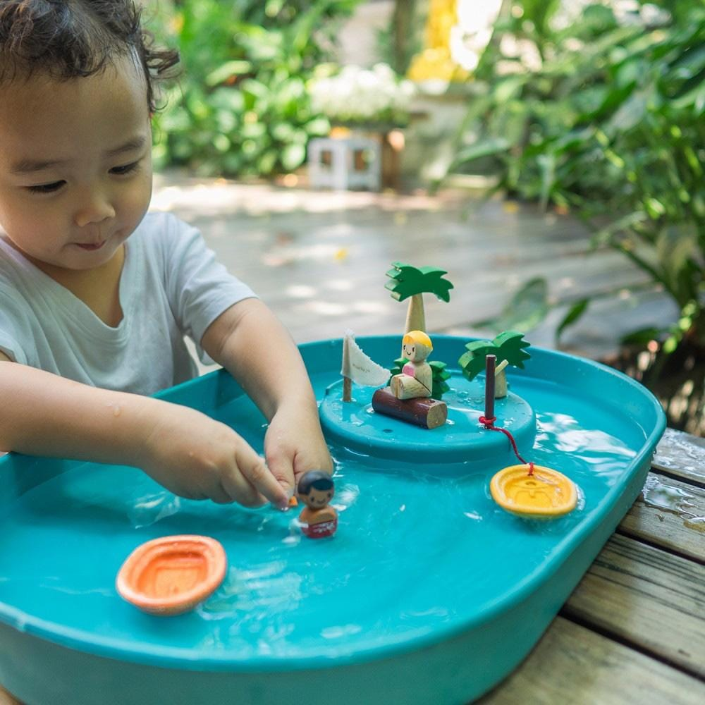 Plan Toys Water Way Activity Play Set