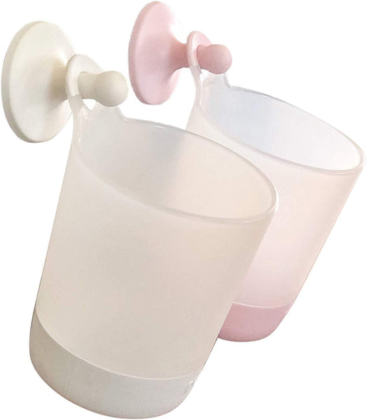 Puj Phillup Hangable Cups - Twin Pack Blush/Marshmellow