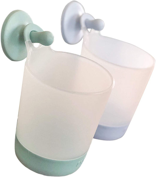 Puj Phillup Hangable Cups - Twin Pack Sage/Periwinkle