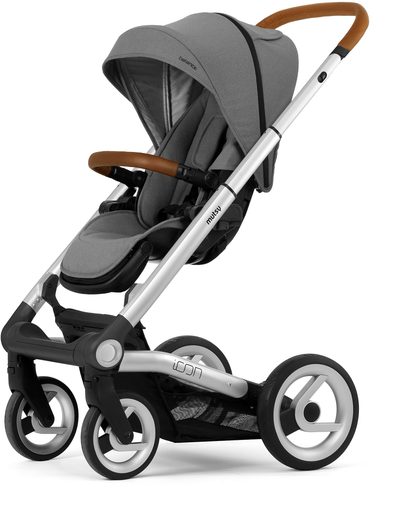 Mutsy Mutsy Icon Pushchair Balance Granite