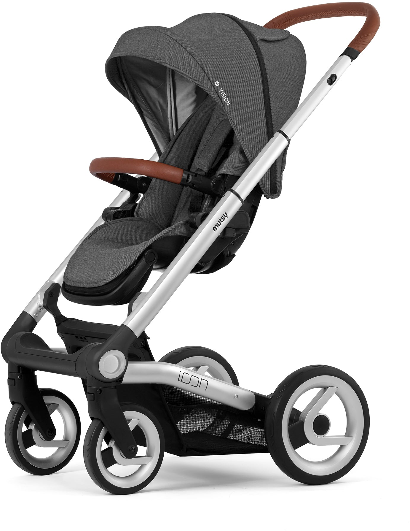Mutsy Mutsy Icon Pushchair Vision Smokey Grey