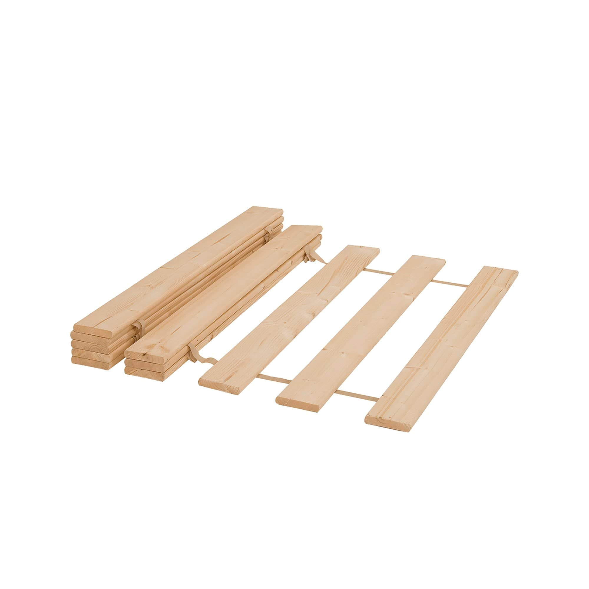Bebemoda Rollable Wooden Slats For Dominique Triple Bunk Bed