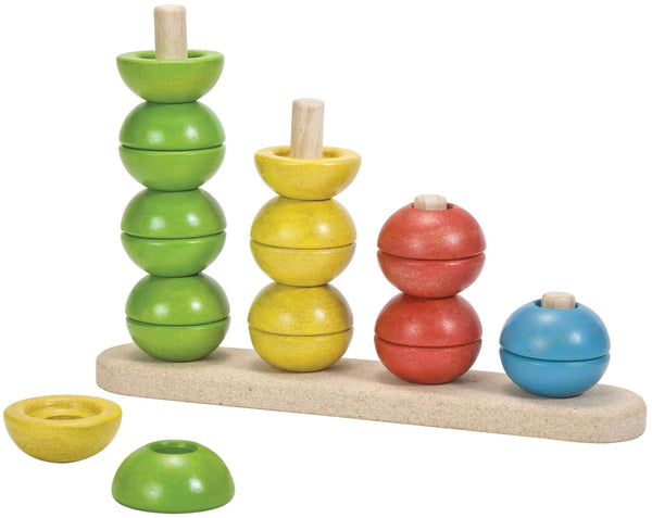 Plan Toys Sort and Count Round Stacker