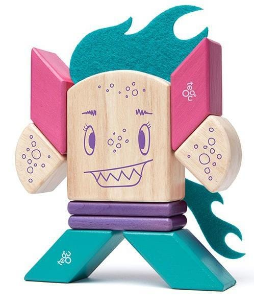 Tegu Sticky Monsters Finklebear Magnetic Character Set