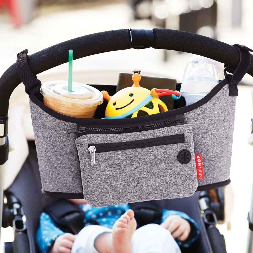 Stroller Organiser Heather Grey - Skip Hop