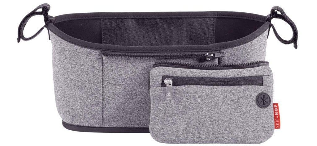Skip Hop Stroller Organiser Heather Grey