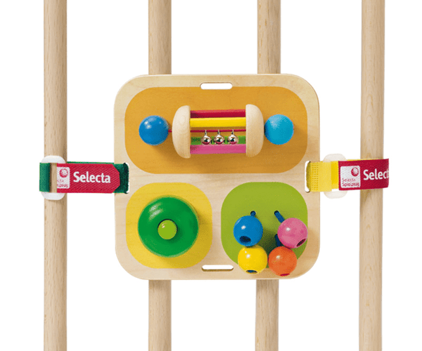 Selecta Wooden Toys Tavolini Wooden Multi Activity Baby Toy