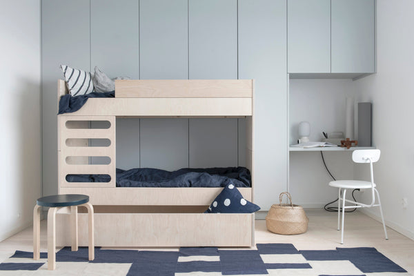 AVA Room AVA Kids Bunk Bed Natural Wood