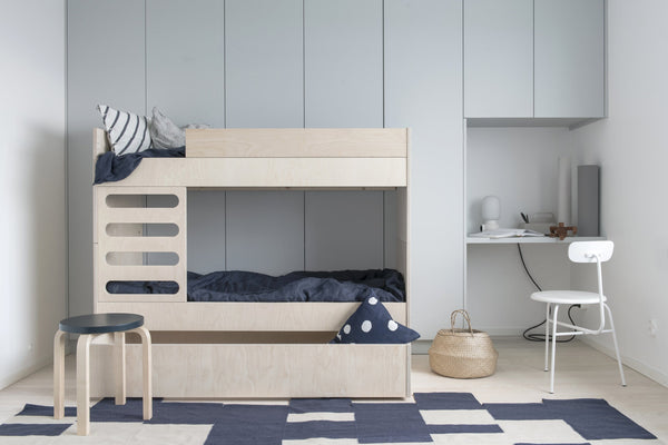 AVA Room AVA Bunk Bed Natural Wood