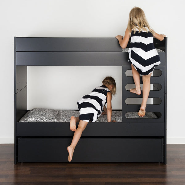 AVA Room AVA Kids Bunk Bed Black