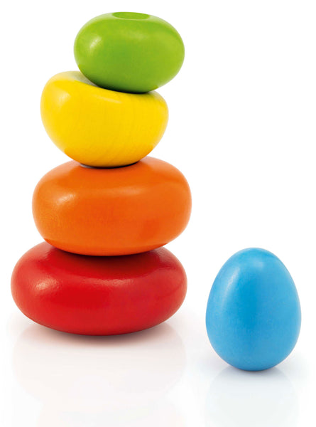 Selecta Wooden Toys Wobbly Rocks