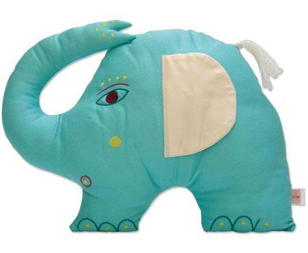 ZidZid Boom Elephant Animal Cushion