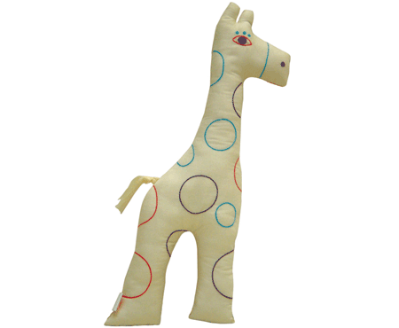 Giraffe Animal Caravan Cushion - ZidZid