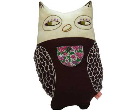 ZidZid Night Time Owl Cushion