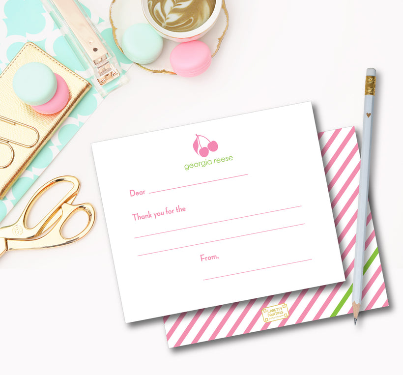 FILL IN THANK YOU NOTES