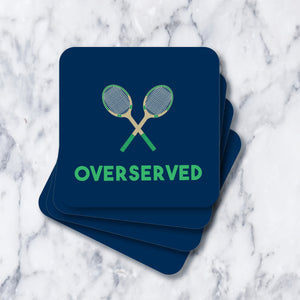Coasters - Overserved Navy