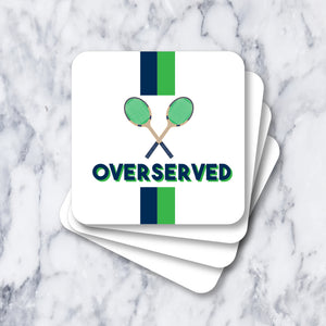 Coasters - Overserved White
